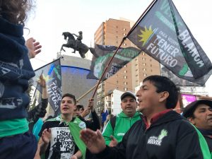 """""""Cada vez que el presidente visite la provincia vamos a manifestarnos"""""""
