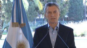 """Macri: """"Acompañaremos con los esfuerzos fiscales necesarios"""""""