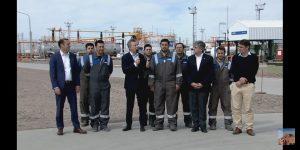 Mauricio Macri visitó Vaca Muerta junto a Paolo Rocca