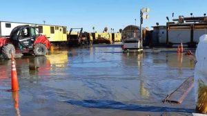 La legislatura pide información sobre el derrame en Bandurrias Sur