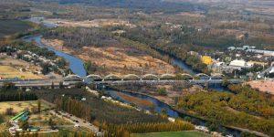 Cortan uno de los puentes entre Neuquén y Cipolletti hasta la tarde