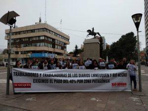 """""""Queremos sueldos acordes a la inflación"""""""