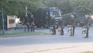 Desalojo en la UNRN: Gendarmería reprimió y detuvo a ocho personas