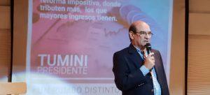 Humberto Tumini quiere armar un frente con Urtubey y Pichetto