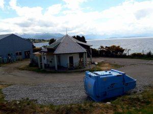 Quieren evitar el volcado de residuos cloacales crudos al lago Nahuel Huapi