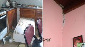 Sauzal Bonito: Para la provincia los daños en las casas no fueron ocasionados por el sismo