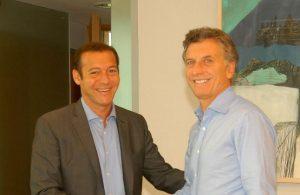 Mauricio Macri se reúne con Omar Gutiérrez