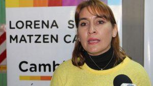 """Lorena Matzen: """"La Constitución no le permite a Weretilneck ser candidato de nuevo"""""""