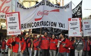 Trabajo rechazó el PPC de Coca-Cola