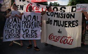 Rechazan el acuerdo de Coca-Cola y SUTIAGA