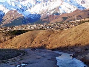 Denuncian el bloqueo de un arroyo en la ciudad de Andacollo