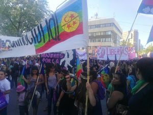La marcha del 8M colmó el centro neuquino