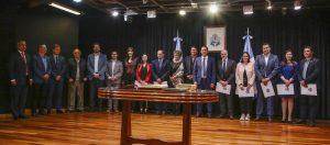 Omar Gutierrez completó su gabinete