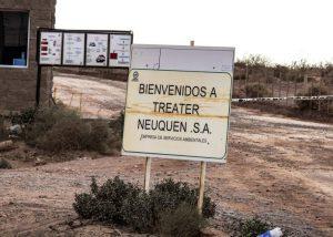 Residuos hidrocarburíferos: Allanaron y tomaron muestras en la empresa Treater