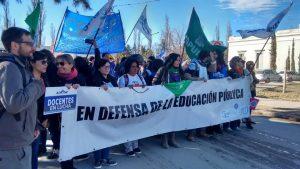 UNCo: Los docentes paran por 48 horas