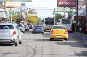 Cortan la calle Sarmiento por obras de repavimentación