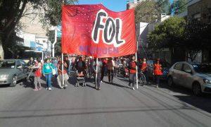 """El FOL denuncia que """"el gobierno incumplió los acuerdos alcanzados"""""""