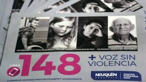 Línea 148: La mayoría de los casos son por violencia de género