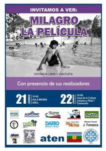 Proyectan la película de Milagro Sala en Neuquén y Centenario
