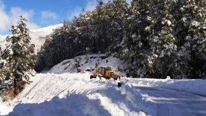 Derrumbe en la Angostura: Llevará más de quince días habilitar de la ruta 40