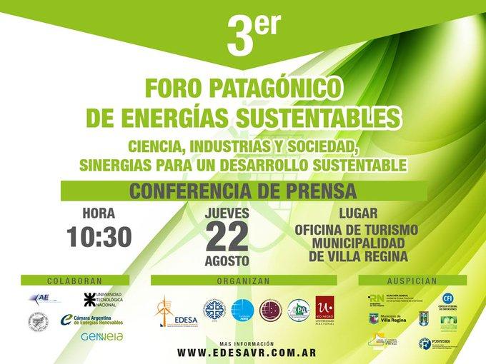 Tercer Foro de Energías Sustentables